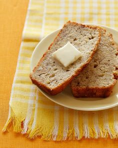 Banana Bread (Skinny laMinx) - This is the one we make constantly  - Stick of butter is 1/2 cup - use ww flour - 5 bananas (unless they're really enormous, then 4)