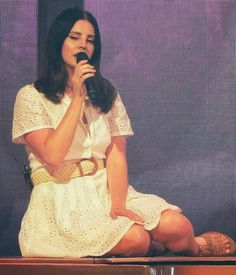 April 20, 2018: Lana Del Rey performs in Madrid, Spain #LDR #LA_to_the_Moon_Tour