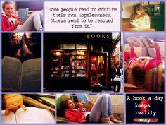 <3 READING <3 Voor school moeten we soms boeken lezen en verslagen maken. Ik zou er eerder voor kiezen om een film te gaan kijken, maar als ik eenmaal in een boek begonnen ben met lezen vind ik het wel heel leuk, omdat ik dan wil weten hoe het afloopt. Het lijkt mij echt super gaaf om een keer in een Amerikaanse Boekwinkel een boek te kopen en ook ben ik benieuwd of je op High Schools ook boeken moet lezen en er vervolgens van verslagen moet maken.