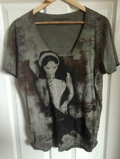 Judas-sinned-sister-of-sin-scoop-t-shirt
