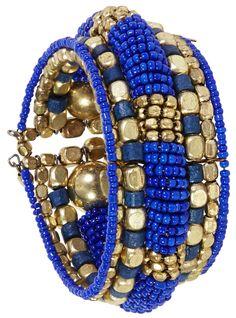 Bijou Brigitte  Bracciale - Perle Blu
