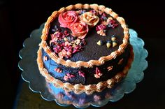 Yammie's Noshery: Autumn Colors Cake