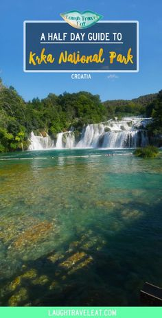 Krka National Park is the less famous sibling of Plitvice in Croatia. Located between Split and Zadar, it's a perfect day trip destination via @https://www.pinterest.com/laughtraveleat