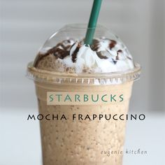 How To Make Starbucks Mocha Frappuccino at Home [Copycat Recipe] - Eugenie Kitchen This.