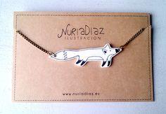 Collar zorro by Nuria Diaz