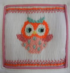 TShirt Smocked with Hooting Owl by bobbosbobbins on Etsy, $25.00