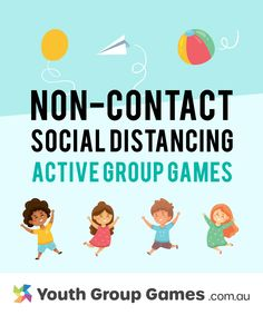 Non-contact active games that practice social distancing Physical Activities For Kids, Physical Education Lessons, Group Games For Kids, Youth Games, Class Games, Outdoor Games For Kids, Icebreaker Activities, Games For Tweens, Indoor Recess Games