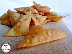 házi nachos Nacho Chips, Tortilla Chips, Mexican Food Recipes, Snack Recipes, Ethnic Recipes, Nachos, Naan, Hamburger, Bakery