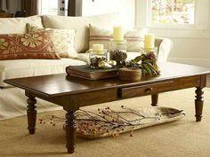 Resultado de imagen de fall coffee table centerpiece
