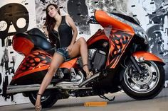 wetsteve3 So Far Over 52,000 Real Biker Babe, Biker Event, Motorcycle and incredible photos of Professional models posing with bikes of all kinds. If it has two or three wheels it gets posted… More...