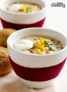 "Loaded ""Baked Potato"" Soup #recipe"