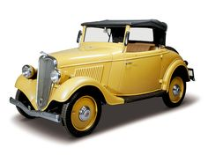 1935 Datsun Roadster, top speed 8 mph.