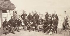 Lieutenant-General Sam Browne and staff, 1878 (c)