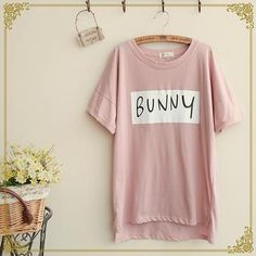 Buy 'Fairyland – 'Bunny' Print T-Shirt' with Free International Shipping at YesStyle.com. Browse and shop for thousands of Asian fashion items from China and more!