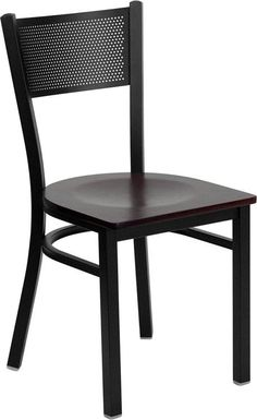 Provide your customers with the ultimate dining experience by offering great food, service and attractive furnishings. This heavy duty commercial metal chair is ideal for Restaurants, Hotels, Bars, Lo