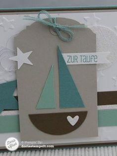 Karte Zur Taufe   Doris Stempelt In Handewitt