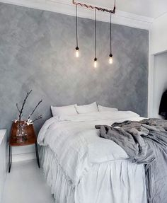 Whether you just moved into your new home or want to give a makeover to your old bedroom, need ideas to make your bedroom design stand out. So you want a modern bedroom but do not know where to sta… Home Bedroom, Modern Bedroom, Gray Bedroom, Master Bedroom, White Grey Bedrooms, Black And White Bedroom Teenager, Bedroom Ideas For Couples Modern, Grey Bedroom Design, Bedroom Office