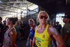 The CrossFit Games Sara Sigmundsdottir, Tia Toomey en Tennil Reed