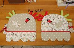Coração puro Francesca Pugliese: Costura Criativa: placemats no café da manhã !!!