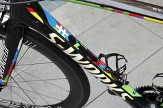 Peter Sagan's world champion's S-Works Tarmac