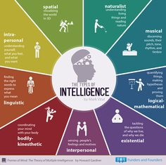 Psychology infographic & Advice 9 types of intelligence. Image Description 9 types of intelligence Types Of Intelligence, Gardner Intelligence, Business Intelligence, Artificial Intelligence, High Emotional Intelligence, Making Words, Frame Of Mind, Learning Styles, Frases