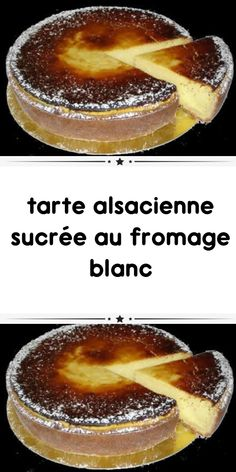 Sweet Alsatian tart with cottage cheese - Tarte - coffee Recipes Cheese Pastry, Cheese Tarts, Snack Recipes, Dessert Recipes, Yogurt Cake, Coffee Dessert, Fancy Desserts, Ice Cream Recipes, Coffee Recipes