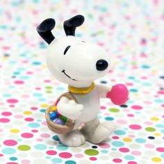 What Easter basket is complete without Snoopy Easter Beagle Treats? Fill your baskets with toys, stickers and Easter decor, available in our shop at CollectPeanuts.com.