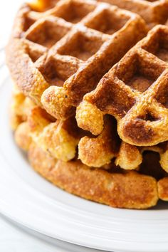 Savory-Sweet Buffalo Chicken and Waffles | Buffalo Chicken, Buffalo ...