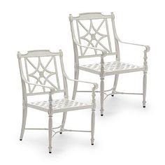 Giverny Set of Two Dining Arm Chairs
