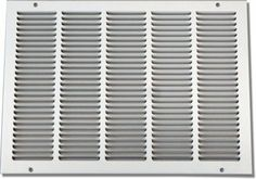 "Shoemaker 1075-14X20 14""x20"" Return Air Grille - White by Shoemaker. $24.06. The Shoemaker 1075 Series Return Air Grille offers simple installation, countersunk mounting holes for smooth appearance, and a versatility for applications where greater air volume is required."