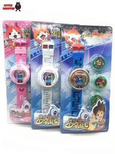 2016 New Anime Yokai Watch DX Yo-Kai Wrist Watch Kids Toy With 3 Medals Cosplay #>=#>=#>=#>=#> Click on the pin to check out discount price, color, size, shipping, etc. Save and like it!