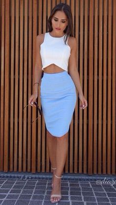 #street #style bodycon skirt @wachabuy
