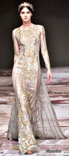 Michael Cinco Spring Summer 2017 Couture Collection - Share The Looks Modern Fashion, Fashion 2017, Fashion Dresses, Michael Cinco Couture, Classic Wedding Gowns, Evening Dresses, Formal Dresses, Dress Robes, Couture Collection