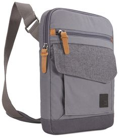 Buy: Case Logic LoDo Vertical Bag for iPad and Tablet, Graphite-Anthracite MFR: Color: Graphite/Anthracite, Fits: Universal Material: Canvas Leather Crossbody Bag, Leather Backpack, Clothes Words, Laptops For Sale, Computer Bags, Leather Bags Handmade, Cloth Bags, Backpack Bags, Mini Bag