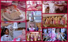 """I'm not a big kid's party person---but this is SO cute...and looks like FUN!  """"Make Your Own Dolly"""" Tea Party"""
