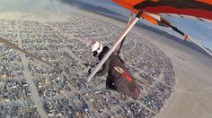blog sur burning man | ... pour se rendre au festival Burning Man • burning man deltaplane