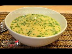 Reteta de Ciorba Radauteana - YouTube Supe, Cheeseburger Chowder, Youtube, Food, Eten, Meals, Diet