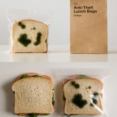 Anti-Theft Lunch Bags  http://pinterest.com/pin/create/bookmarklet/?media=http%3A%2F%2F3.design-milk.com%2Fimages%2F2009%2F06%2Fanti-theft-lunchbags-300x300.jpg=http%3A%2F%2Fdesign-milk.com%2Ftear-off-wallpaper-by-znak%2F=Anti-Theft%20Lunch%20Bags