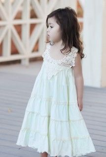 After Dinner Faded Mint Frock Dress by BabyCake Vintage