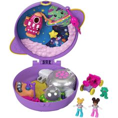 Polly Pocket World, Alien Figure, Mattel Shop, All Things Cute, Childhood Toys, 4 Year Olds, Toys For Girls, Doll Accessories, Fun Activities