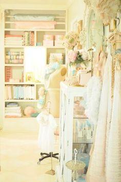 Sewing Room Makeover ~ RubyJean