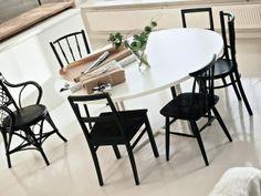 DIY pyöreä pöytä Decor, Furniture, Home, Dining, Dining Area, Dining Table, Table, Chair, Dining Chairs