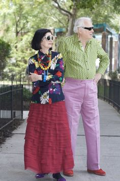 ADVANCED STYLE: Richard and Carol: A Lifetime of Style Together