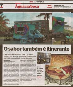 Jornal Extra - Mandala Food Truck #Marica
