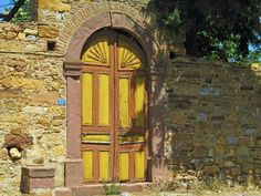 Chios, Greece, Doors, Island, Painting, Art, Greece Country, Art Background, Painting Art