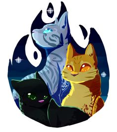 Lionblaze, Hollyleaf and Jayfeather