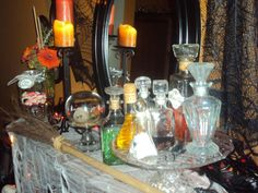 Our Halloween potions!
