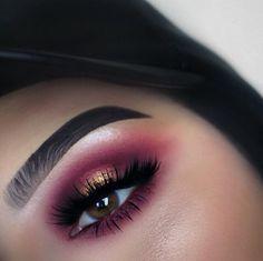 pιnтereѕт : @jenιιмarιee ♡ Beautiful Eye Makeup, Flawless Makeup, Love Makeup, Simple Makeup, Makeup Inspo, Makeup Inspiration, Beautiful Eyes, Makeup Is Life, Makeup Goals