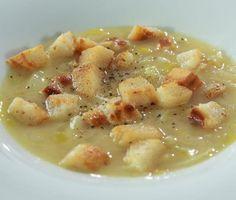 Sýrová polévka s pórkem a cibulí od Z. Pohlreicha