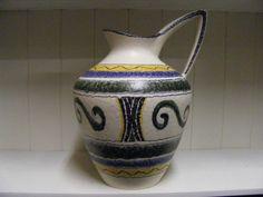 Large ES Keramik vase van RetroVases op Etsy